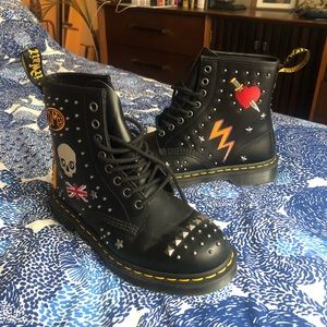 1460 Rockabilly Boots LIKE NEW - OFFERS WELCOMED